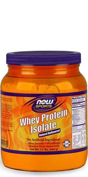 NOW Foods Whey Protein Isolate Natural Unflavored