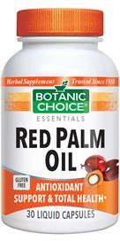 Red Palm Oil Capsules by Botanic Choice