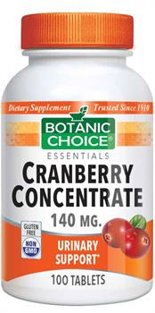 Cranberry Concentrate 140 mg.