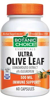 Botanic Choice - Ultra Olive Leaf 500 mg. - 60 capsules