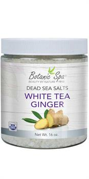 Botanic Spa - Dead Sea Salts - White Tea Ginger Scented