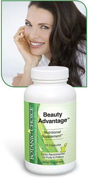 Beauty Advantage� benefits hair, nails, and skin