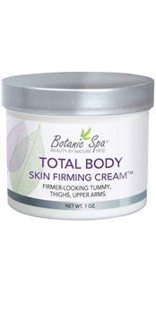 Total Body Skin Firming Cream helps to tone skin on belly, legs, and arm
