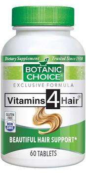 Botanic Choice - Vitamins 4 Hair  - 60 tablets