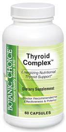 Thyroid Complex helps maintain weight, energy, and good sleep