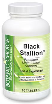 Black Stallion boosts men's sexual health naturally