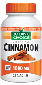Cinnamon Natural Supplement helps maintain healthy blood sugar
