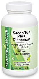 Green Tea and Cinnamon to burn fat and promote healthy blood sugar levels