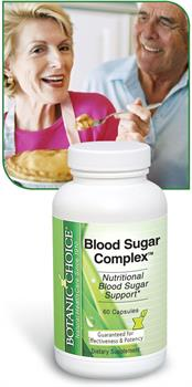 Blood Sugar Complex promotes healthy carbohydrate metabolism