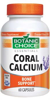 Botanic Choice - Coral Calcium 500 mg. - 60 capsules