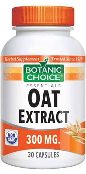 Botanic Choice - Oat Extract 300 mg. - 30 capsules