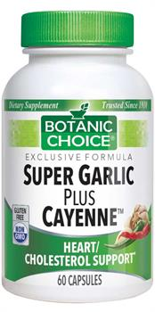Botanic Choice - Super Garlic Plus Cayenne  - 60 capsules
