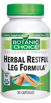 Leg Herbal Food Formula  provides nutritional support for circulation