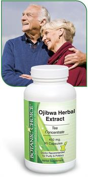 Ojibwa Herbal Extract for detox and cleansing