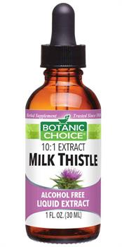 Botanic Choice - Milk Thistle Liquid Extract - 1 oz