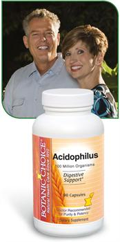 Acidophilus Nutritional Supplement provides helpful digestive enzymes