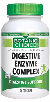 Botanic Choice - Digestive Enzyme Complex  - 90 capsules