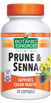 Botanic Choice - Prune and Senna - 30 softgels