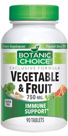 Veggie and Fruit Tablets Benefit Overall Health