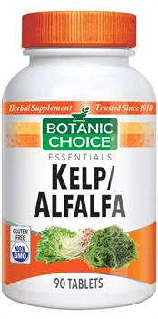 Kelp and Alfalfa benefit Thyroid and Skin Health
