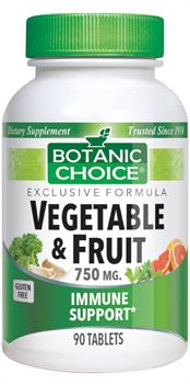 Botanic Choice - Vegetable & Fruit - 90 tablets