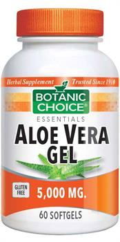 Botanic Choice Aloe Vera Gel 5000 mg - 60 softgels - Botanic Choice