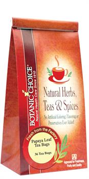 Papaya Leaf Tea Bags by Botanic Choice