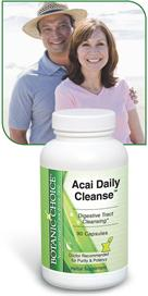 Acai Berry Daily Cleanse promotes proper digestion