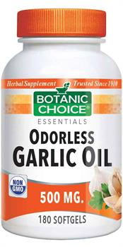Odorless Garlic Oil 500 mg