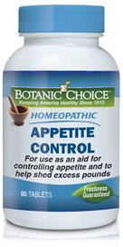 Botanic Choice - Homeopathic Appetite Control Formula - 90 tablets