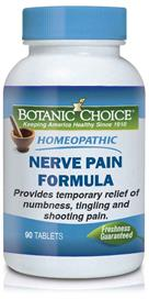 Homeopathic Nerve Pain Formula by Botanic Choice