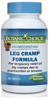 Homeopathic Leg Cramp Remedy provides relief for aching legs and muscle spasms