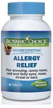 Homeopathic Remedy for Allergies