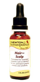 Newton Homeopathics - Hair & Scalp - 1 fl oz
