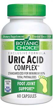 Uric Acid Complex promotes big-toe health