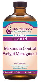 Life Solutions <br> Maximum Control Weight Management