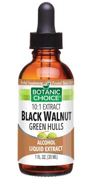 Black Walnut Green Hulls Liquid Extract benefits intestinal health