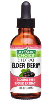 Botanic Choice - Elder Berry Liquid Extract - 1 oz