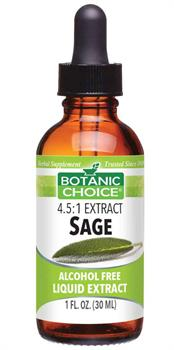 Sage Leaf Liquid Extract promotes women's health