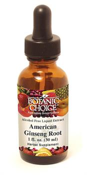 Ginseng American Liquid Extract boosts energy and vitality