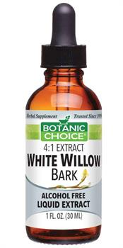 White Willow Bark Alcohol-Free Liquid Extract by Botanic Choice