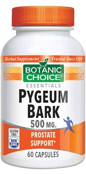 Botanic Choice - Pygeum Bark 500 mg. - 60 capsules