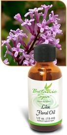 Lilac Floral Oil for a feminine perfume