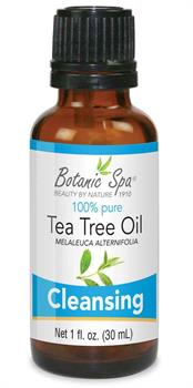 Tea Tree Oil cleanses skin and nails