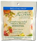 Breathe Deep - Nature's Alchemy Aromatherapy Herbal Mineral Baths