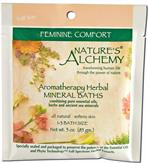 Feminine Comfort - Nature's Alchemy Aromatherapy Herbal Mineral Baths