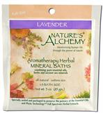 Lavender - Nature's Alchemy Aromatherapy Herbal Mineral Baths