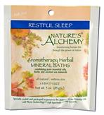 Restful Sleep - Nature's Alchemy Aromatherapy Herbal Mineral Baths