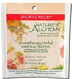 Sports Relief - Nature's Alchemy Aromatherapy Herbal Mineral Baths