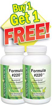 Formula #220 - Buy 1 Bottle, Get 1 Free